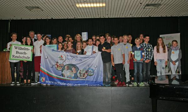 Auszeichnungsfeier Schule der Zukunft